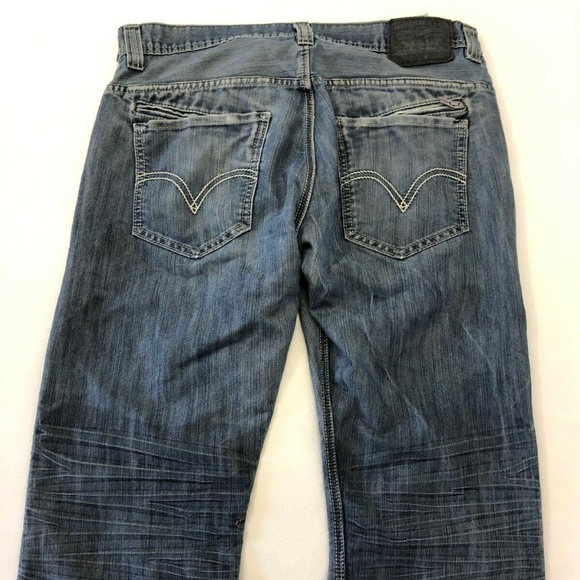 Levi's Other - Levis 514 Slim Straight Blue Jeans Red Tab Mens